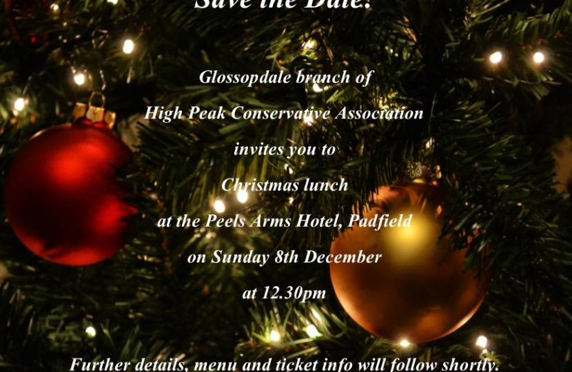 Glossopdale Christmas Lunch