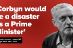 """Corbyn would be a disaster as a Prime Minister"" ex Labour MP Tom Levitt"